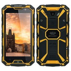 Conquest S8 5 Inch IP68 Waterproof 6000mAh 2GB RAM 16GB ROM MTK6735 Quad Core 4G LTE Smartphone