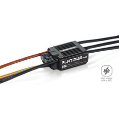 Hobbywing Platinum 60A V4 Bruashless ESC For RC Model