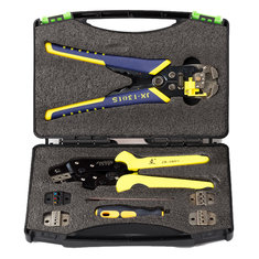 Paron® JX-D5301 Multifunctional Ratchet Crimping Tool Wire Strippers Terminals Pliers Kit