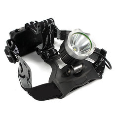 Bike Bicycle XM-L T6 LED Headlight Headlamp With Rechargeable 18650 Batteries
