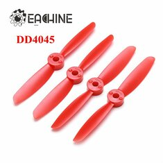 Eachine Direct Drive 4045 4x4.5 ABS Propeller CW CCW Red for Assassin 180 QAV180 Blade 185 QAV210