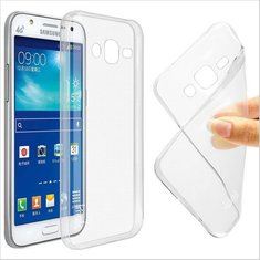 Slim Clear TPU Back Case Cover For Samsung Galaxy J7 J7008