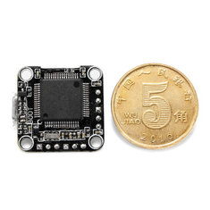 16x16mm Super_S STM32F405 F4 2-4S Mini Flight Control Board with 5V 1A BEC Support D-shot