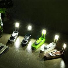 Многофункциональный открытый портативный банк силы с зажимом LED свет для ночного бегуна