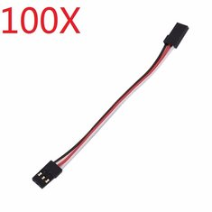 100X 10cm 30 Core Servo Extension Wire Cable Male To Male For FUTABA JR