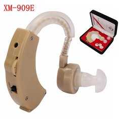 XM-909E Hearing Aid Behind the Ear Sound Amplifier Volume Adjustable
