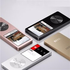 BENJIE K9 Mini MP3 Player With Speaker 58hrs Lossless Voice Recorder FM Radio Support 64GB TF Card