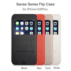 G-Case Sense Series Flip Case Cover PU+PC+TPU Protective Shell For iPhone 6 6S 6Plus 6S Plus