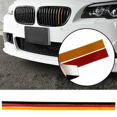 М-спортивная решетка гриль винил полоса стикер переводная картинка для BMW M3 m5 e46 e90 немецкий флаг