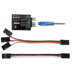 P1 Gyro 3-Axis Flight Controller Gyro for Fixed-Wing Airplane FPV