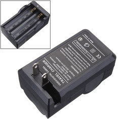 DC 4.2V 650mA US UK EU Power Charger Plug 18650 Rechargeable Li-ion Battery