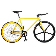 20 Inch Urban Fixie Track Bike Bicycle Cycle Fixed Gear 700C Steel Frame Set & Fork