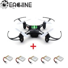 Eachine H8 Mini Headless Mode RC Quadcopter with 5pcs 3.7V 150mAh Battery
