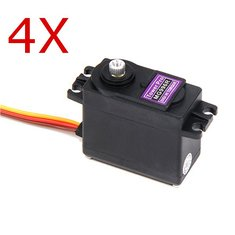 4X TowerPro MG996R Metal Gear Digital High Torque Servo 55g