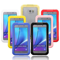 Waterproof PC Transparent Protective Case Cover For Samsung Galaxy Note 5