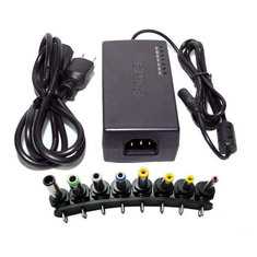 96W Multi-Function Universal Notebook Laptop AC DC Power Adapter Charger 12V, 15V, 16V, 18V, 19V, 20V, 24V Output