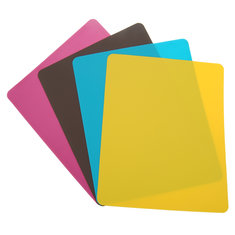 Color Mouse Pad Silica Gel Rectangle Ultra Thin Lightweight
