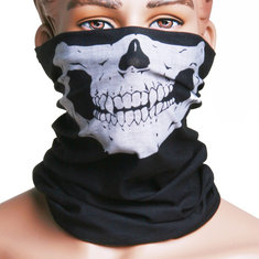 2Pcs Skull Multi Purpose Head Wear Hat Scarf Face Mask Cap