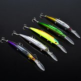 Proberos 12.7g 14.5cm Minnow Bait Fishing Lure Hard Lure Bait with Hooks 5PCs