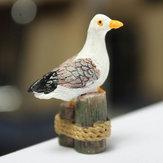 Micro Landscape Decorations Mini Resin Seagull Garden DIY Decor