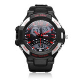 OHSEN AD2805 Sport Black Mlilitary Date Week Men Wrist Quartz Watch
