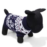 High Star Pet Dog Knitted Sleeveless Sweater Black