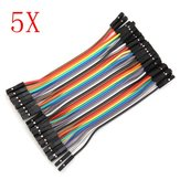 200Pcs 10cm Female To Female Jumper Cable For Arduino