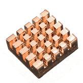 15 Pcs Pure Copper Heatsink Cooling Fin Kit For Raspberry Pi