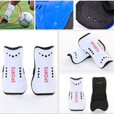 1Pair Soft Light Thickening EVA Football Shin Pads Soccer Guards Sports Leg Knee Protector Support