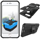 Heavy Duty Armor Shockproof Kickstand Case Hard Soft Hybrid Rugged Case Cover For iPhone 7 Plus