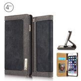 CaseMe Card Wallet Leather Flip Stand Anti-dirt Durable Case Cover For iPhone 5 5s 5c 5se