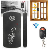 Wireless Magnetic Sensor Window Door Entry Alarm Security System Remote Control