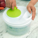 Honana HN-SP1 Easy Spin Salad Spinner Vegetable And Fruit Dryer Multifunction Kitchen Tools
