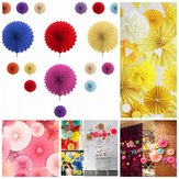 20cm 8'' Hanging Tissue Fan Paper Pom Poms Party Balls Wedding Christmas Party Decoration