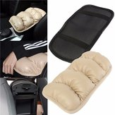 36cmx21cm Car Armrest Topping Mat Liner Pad Console Storage Box Cover Cushion