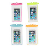 Universal Waterproof Fluorescent Underwater Pouch Case Cover For Mobile Phones