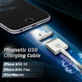Original Magnetic USB Charging Data Transmission Cable For iPhone 5 5S 6 6S Plus iPad Mini 2 3 Air