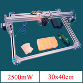2500mW A3 30x40cm Desktop DIY Violet Laser Engraver Picture CNC Printer Assembling Kits