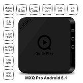 MXQ PRO Amlogic S905 1GB/8GB Gigabit BT4.0 Quad Core Android 5.1 WiFi KODI H.265 TV Box Android Mini PC