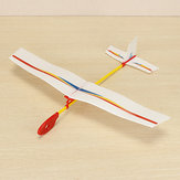 Hand Throwing Assembly Bubble Flight Model DIY Handmade Plane Model