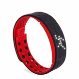 TW2 White LED Waterproof Sports Pedometer Calorie Tracker Alarm Smart Wristband Watch for Android