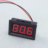 3Pcs 0.56 Inch Red AC70-500V Mini Digital Voltmeter Voltage Panel Meter AC Voltage LED Display Meter