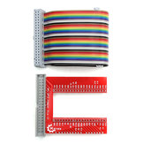 GPIO U-shaped Adapter V2 Breadboard Expansion Board 40P Cable Kit For Raspberry Pi 3 B+