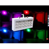 18 LED Full Color Voice-activated Strobe Stage Lighting for Bar KTV Party Disco