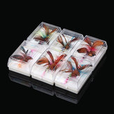 SeaKnight Tri-Poseidon 12 PCS Fly Fishing Lures Insect Lure Butterfly Style Fly Fishing Lures