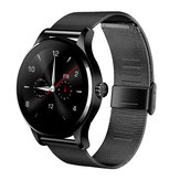 K88H Smart Bluetooth Watch Anti-lost Heart Rate Monitor Round Siri Classic Smartwatch