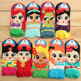 Korean Women Retro Vintage Cute Cartoon Girls Cotton Ankle Socks Low Cut Socks