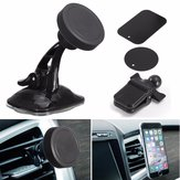 3 In 1 360° Suction Magnetic Car Air Vent Windshield Mount Stand Holder For iPhone Samsung Xiaomi