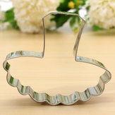 Ballet Skirt Shape Stainless Steel Cookie Cutter Fondant Cake Mold
