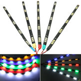 30cm 12V 5050 Car Motorcycle 15LED Bar Strip Light Running Grille Decoration